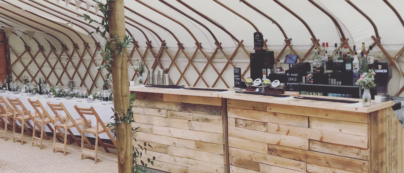 Rustic Bar, Mobile Bar Hire Gloucestershire